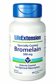 SPECIALLY-COATED BROMELAIN - Life Extension - Anti-Inflammatory