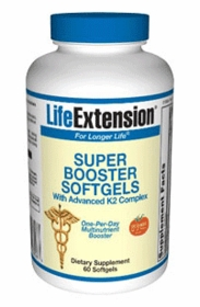 SUPER BOOSTER SOFTGELS WITH ADVANCED K2 COMPLEX - Life Extension - 60 Softgels