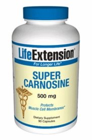 SUPER CARNOSINE WITH BENFOTIAMINE - Life Extension (500mg)