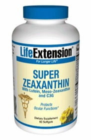 Super Zeaxanthin Formulas by Life Extension