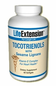TOCOTRIENOLS with Sesame Lignans - Life Extension