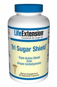 TRI SUGAR SHIELD - Life Extension - 60 Vegetarian Capsules