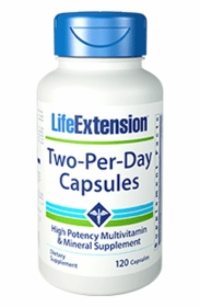 TWO-PER-DAY - Life Extension - 120 Caps