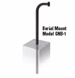 Linear Mounting Post (Burial) GNB-1