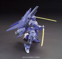 Build Fighters:  Mega-Shiki Gundam HGBF Model Kit 1/144 Scale #025 - SOLD OUT