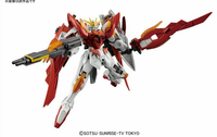 Build Fighters:  Wing Gundam Zero Honoo HGBF Model Kit 1/144 Scale #033 - SOLD OUT