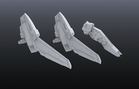 Builders Parts HD:  MS Power Up Wing 01 1/144 Scale BPHD-28 - SOLD OUT