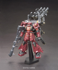 "Gundam Thunderbolt:  Zaku II ""Psycho Zaku"" HG Model 1/144- SOLD OUT"