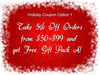 Holiday Coupon Option 1: 5% Off Orders of $50-99 PLUS Gundam Gift Pack A