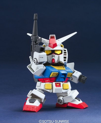 Super Deformed EX-Standard:  RX-78-2 Gundam Figure - SOLD OUT