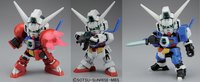 Super Deformed:  Gundam Age-1 (Normal/Titus/Sparrow) Model Kit #369 - SOLD OUT