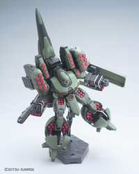 Universal Century:  Zssa (Unicorn Ver.) HGUC Model Kit 1/144 Scale #180 - SOLD OUT