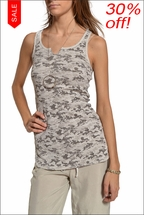 Baby Ribbed Racer Back Tank (Sahara Camo) by Hard Tail Forever