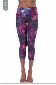 Baroque Print Smooth Legging (As Shown) by Nanette Lepore Play