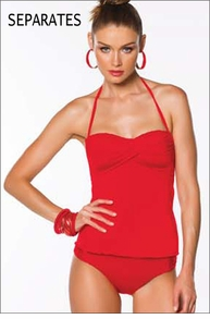 Becca Color Code Tankini Separates