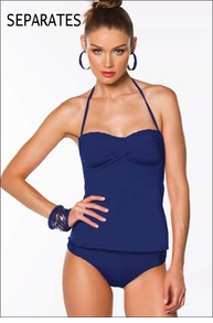 Becca Deep Sea Tankini Separates