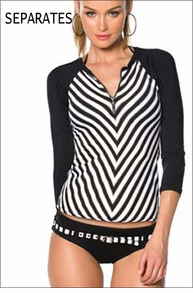 Becca Optical Illusion Rashguard Separates