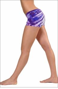 Bootie Shorts (Sweet Candy Tie-Dye) by Hardtail