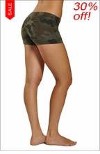 Bootie Shorts (Urban Camo) by Hard Tail Forever