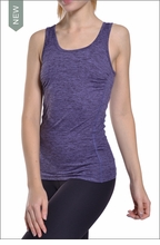 Brushed Heather All Wear Tank (Brushed Concord) by Hardtail