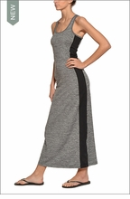 Brushed Heather Racing Stripe Maxi by Hardtail