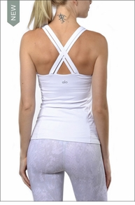 Carmen Tank (White) by Alo Yoga