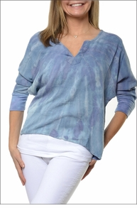 Chevron Yoga Pull Over (Tie Dye CS26) by Hardtail
