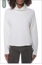 Cown Neck Pullover (DL-14, Snow) by Hardtail