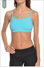 Crop Bound Tank (Surf Blue) by Hardtail