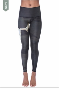 Deer Medicine Hot Pant (Charcoal) by Teeki