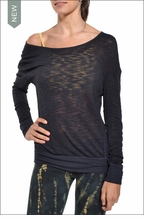 Easy Pullover Sweatshirt (Onyx) by Hardtail