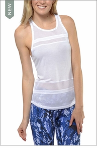 Ella Tank (White) by Alo Yoga
