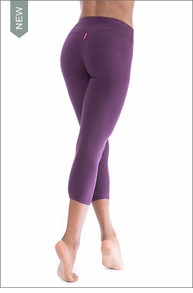 Flat Waist Capri (Concord) by Hard Tail Forever