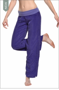 Flat Waist Pant (Wisteria) by Hardtail