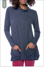 Fly Back Cowl Pull Over (VOR-08, Onyx) by Hardtail