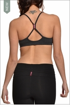 Freestyle Bra (Dark Charcoal) by Hard Tail Forever