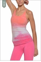 Freestyle Tank w/Bra (Key West Sunset Tie-Dye) by Hardtail