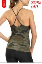 Freestyle Tank w/Bra (Urban Camo) by Hard Tail Forever