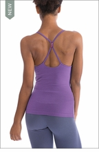 Freestyle Tank w/Bra (W-329, Purple) by Hardtail