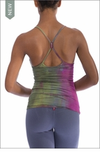 Freestyle Tank w/Bra (W-329, Tie-Dye VR1) by Hardtail