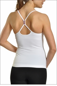 Freestyle Tank w/Bra (White) by Hard Tail Forever