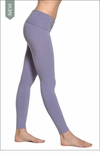 Hard Tail Forever Contour Roll Down Ankle Legging (Amethyst)