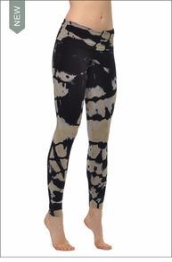 Hard Tail Forever Contour Roll Down Ankle Legging (DC2 Tie-Dye)