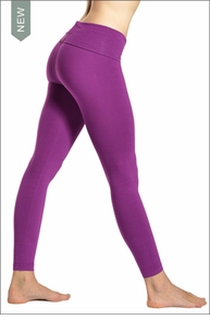 Hard Tail Forever Contour Roll Down Ankle Legging (Orchid)