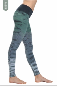 Hard Tail Forever Contour Roll Down Ankle Legging (RH36 Tie-Dye)