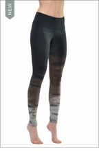 Hard Tail Forever Contour Roll Down Ankle Legging (RH38 Tie-Dye)