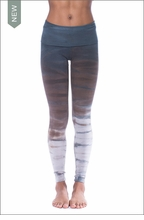 Hard Tail Forever Contour Roll Down Ankle Legging (W-338, Tie-Dye RH38)