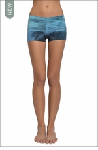 Hardtail Bootie Shorts (Trevi Fountain Tie-Dye)