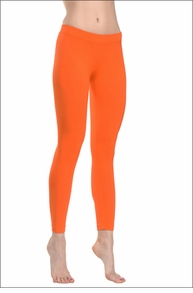 Hardtail Contour Waist Cropped Legging (Orange)