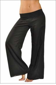 Hardtail Double Layered Roll Down Voile Pant